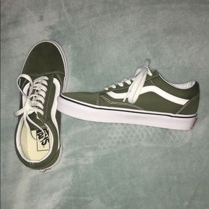 Green Vans Old Skool Skate NWOT